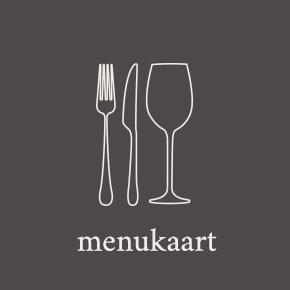 Afbeelding van mes, vork en een wijnglas